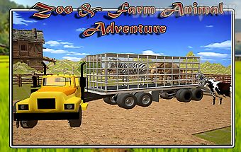 Farm transport: zoo animals
