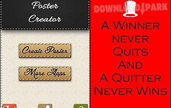 Funky poster creator