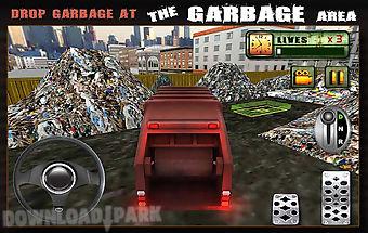 Garbage truck driver