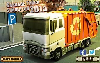 Garbage truck simulator 2015