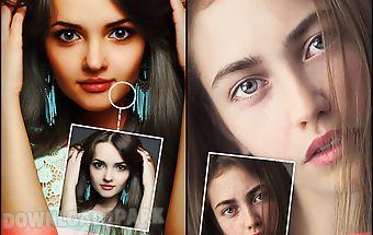 Beauty camera skin