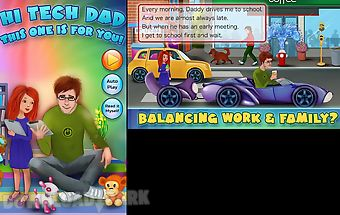 Hi-tech dad family storybook