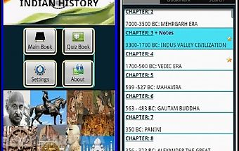 Indian history, book & quiz
