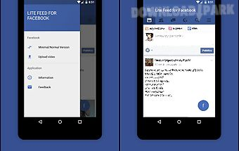 Lite feed for facebook (fast)