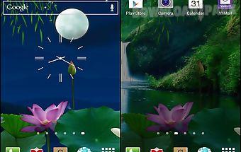 Lotus pond live wallpaper