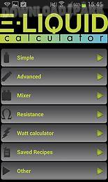 e-liquid calculator