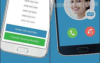 Sideline – 2nd phone number