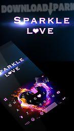 sparkle love emoji ikeyboard💖