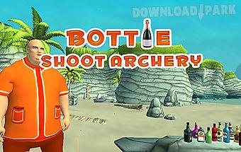 Bottle shoot: archery