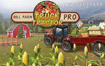 Hill farm truck tractor pro
