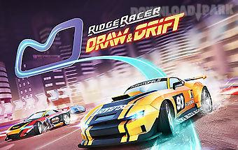 Ridge racer: draw and drift