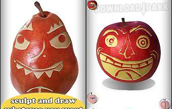 Fruit draw: sculpt vegetables