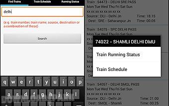Train running status (live)