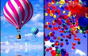 Balloons live wallpaper