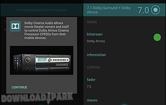 Cinema audio