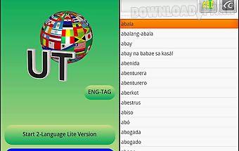 Eng-tagalog translator lite