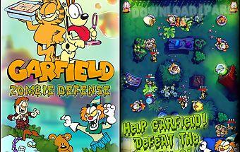 Garfield zombie defense