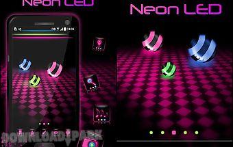 Neon led go launcher