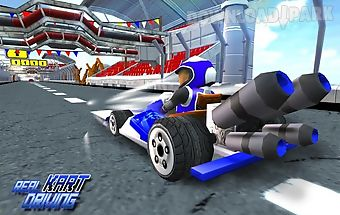 Racing car: karting game