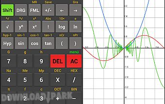 Scientific calculator kal