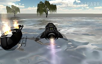 Speed boat: zombies