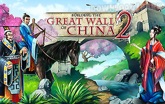 Building the great wall of china..