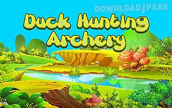 Duck hunting archery