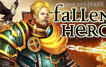 Fallen hero