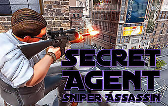 Secret agent sniper assassin