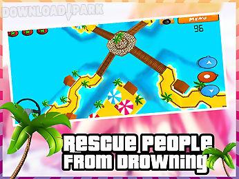 beach rescue buggy 3d