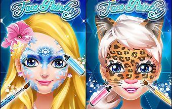 Face paint princess salon