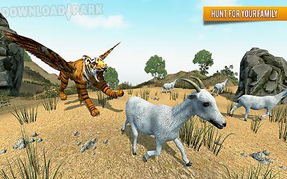 Flying Tiger Wild Simulator Android Juego Gratis Descargar Apk