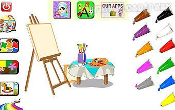 Learn colors -english & arabic