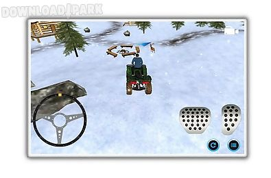 snowmobile parking adventure