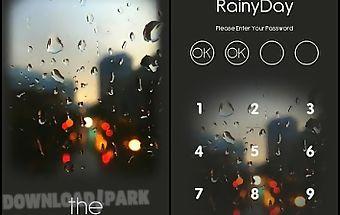Kakaotalk theme - the rainyday