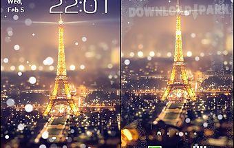 Paris night light lwp