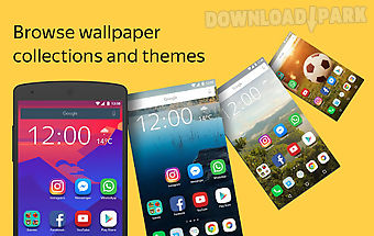 Yandex launcher & wallpapers