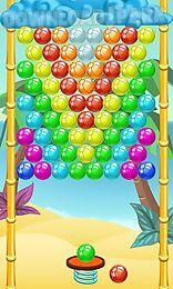bubble shooter: paradise. bubble summer