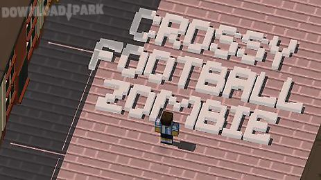 crossy football zombies