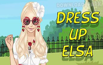 Dress up elsa to the picnic