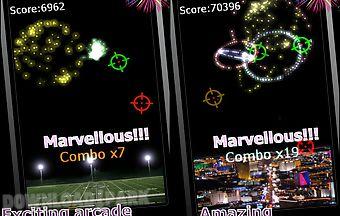 Fireworks arcade game