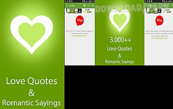 Free 4000 love quotes and romant..