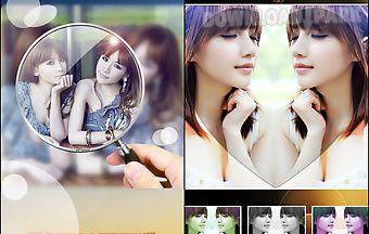Insta mirror photo