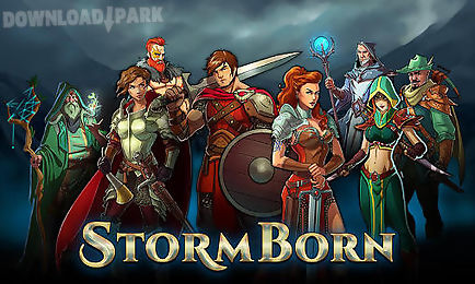 Storm born  war of legends Android Jogo Baixar grátis em Apk f5d79b12b3d22