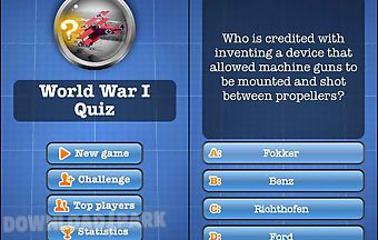 World war i quiz free