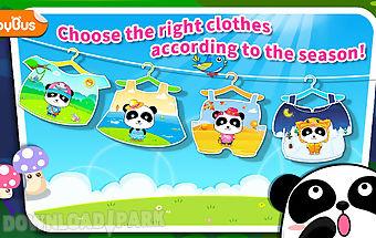 Baby panda show