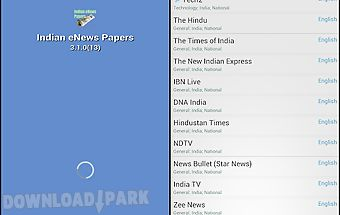 Indian enews papers