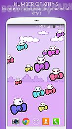 kitty cute live wallpaper
