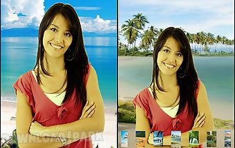 My photo background change