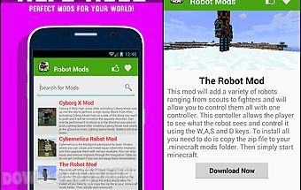 Robot mods for mcpe